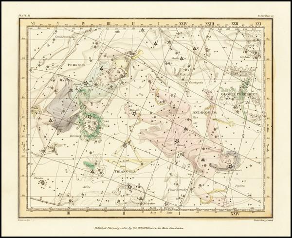 58-Celestial Maps Map By Alexander Jamieson