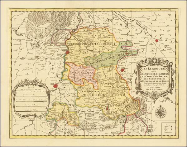 59-Netherlands Map By Reiner & Joshua Ottens