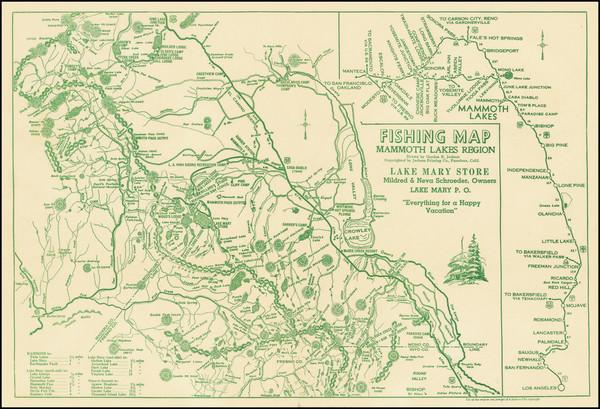 61-California Map By Gordon R. Jackson