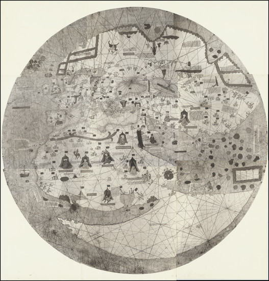 1-World Map By Anonymous