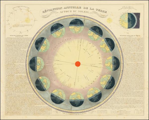 17-Celestial Maps Map By Eugène Andriveau-Goujon