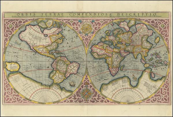 30-World Map By Rumold Mercator