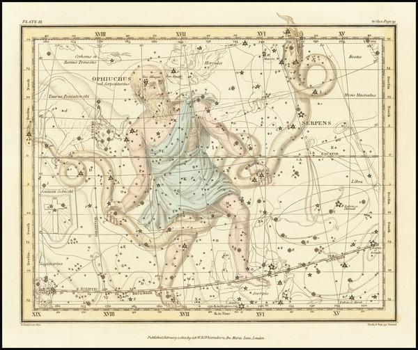 46-Celestial Maps Map By Alexander Jamieson