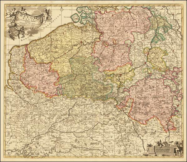 31-Belgium Map By Reiner & Joshua Ottens