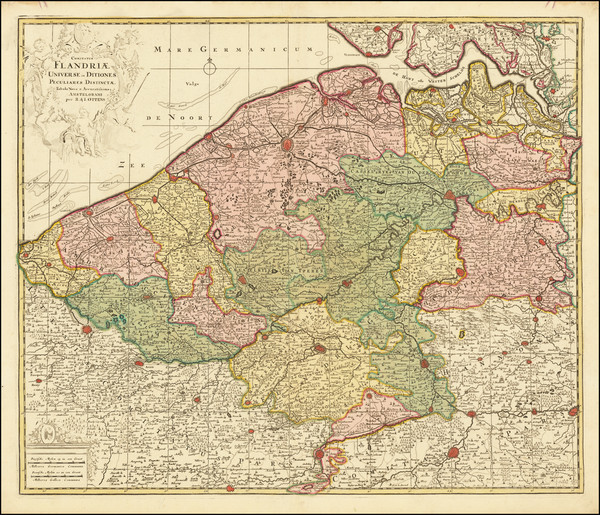 16-Belgium Map By Reiner & Joshua Ottens