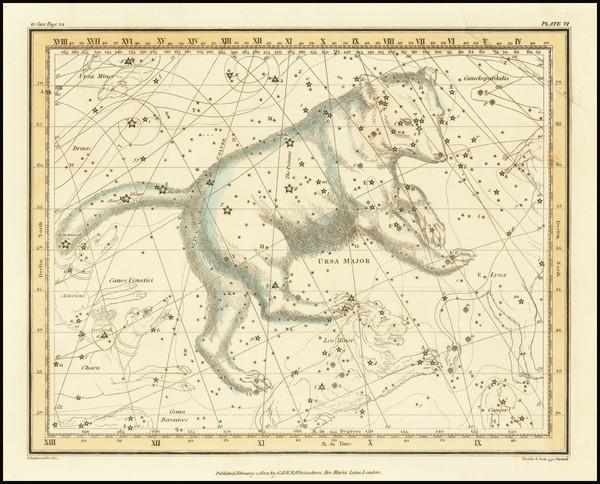 66-Celestial Maps Map By Alexander Jamieson