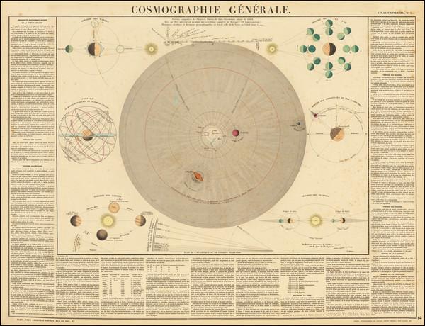 97-Celestial Maps Map By J. Andriveau-Goujon