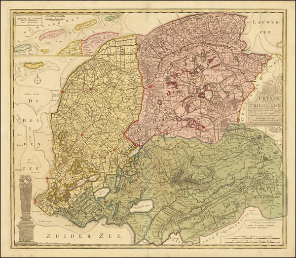 48-Netherlands Map By Francois Halma