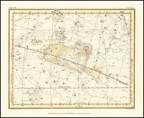 48-Celestial Maps Map By Alexander Jamieson