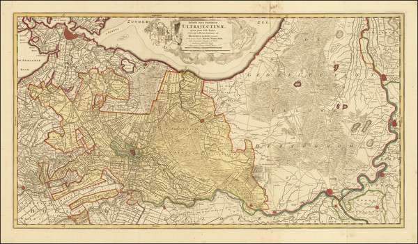 38-Netherlands Map By Peter Schenk / Nicolaes Visscher I
