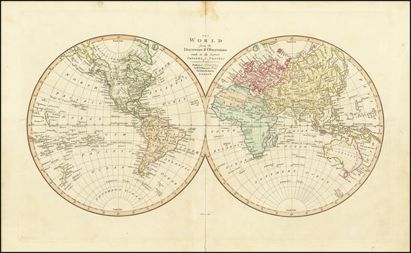 64-World Map By Robert Wilkinson