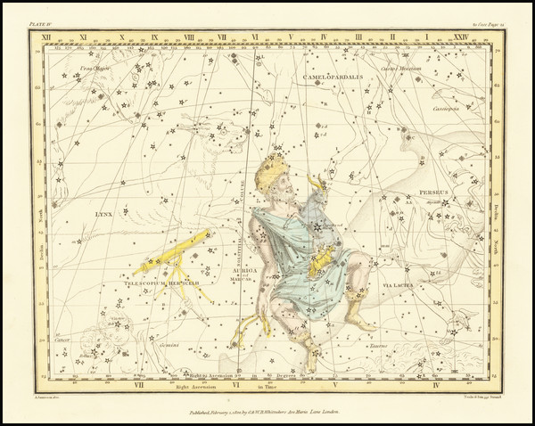 43-Celestial Maps Map By Alexander Jamieson