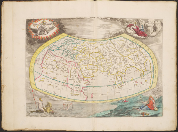 36-Atlases Map By Claudius Ptolemy