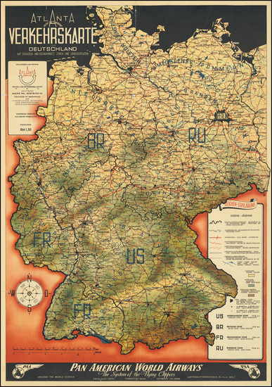 93-Europe, Germany, Poland, Czech Republic & Slovakia, Baltic Countries and World War II Map B