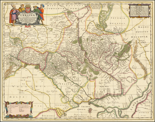 23-Russia and Ukraine Map By Moses Pitt