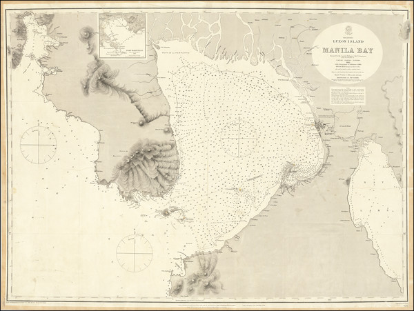 62-Philippines Map By British Admiralty