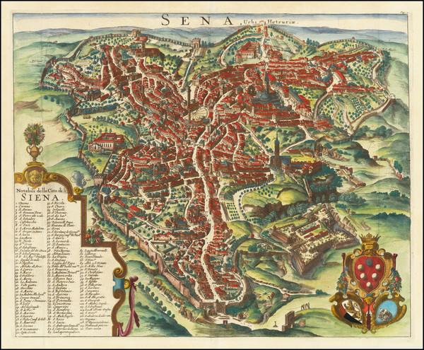 26-Other Italian Cities Map By Pieter van der Aa