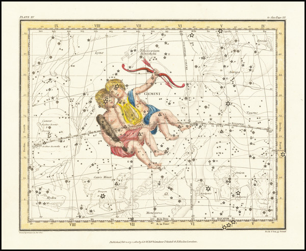 33-Celestial Maps Map By Alexander Jamieson
