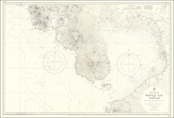 98-Philippines Map By British Admiralty
