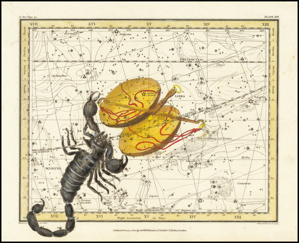 17-Celestial Maps Map By Alexander Jamieson