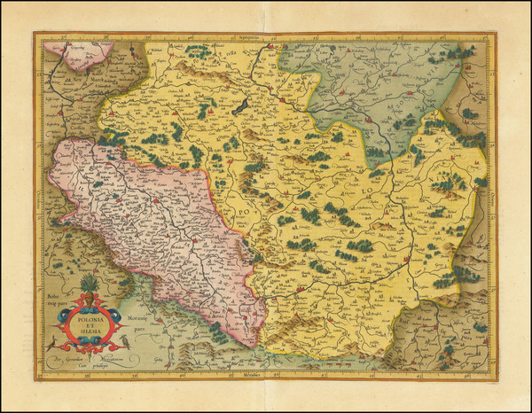 67-Poland Map By  Gerard Mercator