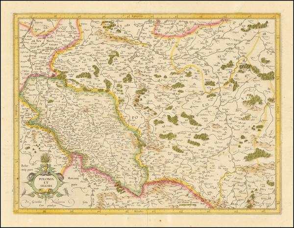55-Poland Map By  Gerard Mercator