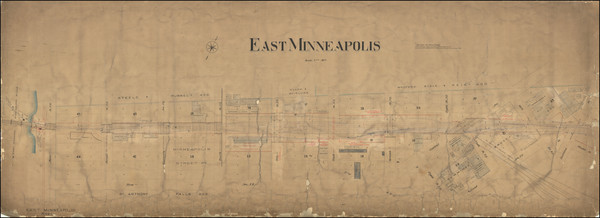 48-Minnesota Map By T. Bolstad