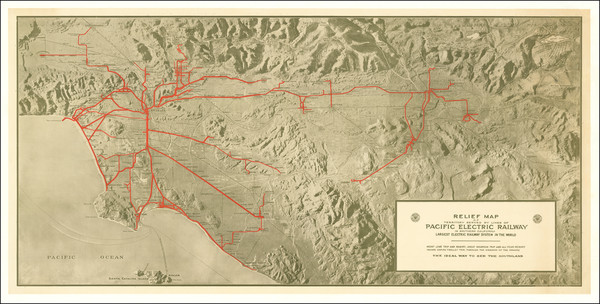 32-Los Angeles Map By O. A. Smith