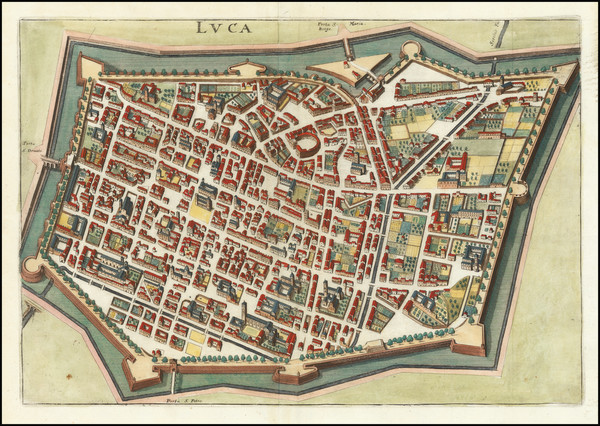 19-Other Italian Cities Map By Matthaus Merian