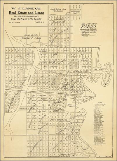 91-North Dakota Map By E.J. Henriques
