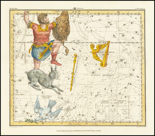 6-Celestial Maps Map By Alexander Jamieson