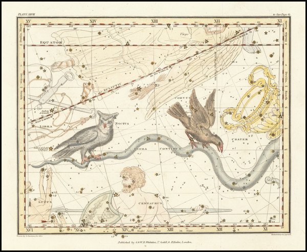 16-Celestial Maps Map By Alexander Jamieson