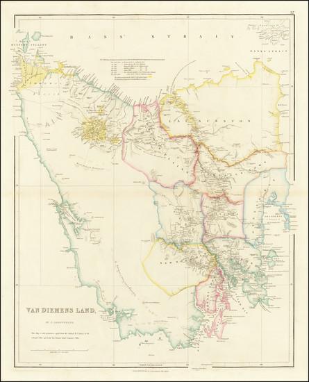 3-Australia Map By John Arrowsmith
