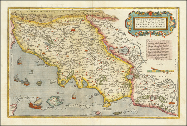 26- Map By Abraham Ortelius