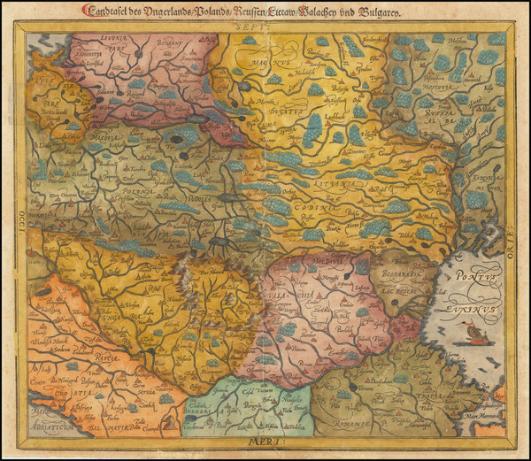 90-Poland, Russia, Ukraine, Baltic Countries and Serbia Map By Sebastian Munster