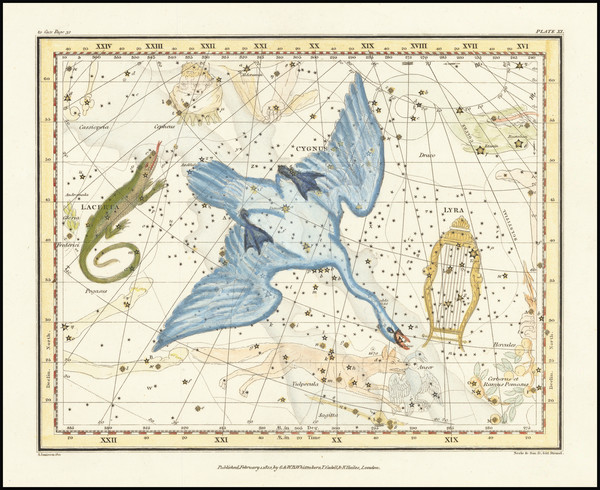 38-Celestial Maps Map By Alexander Jamieson