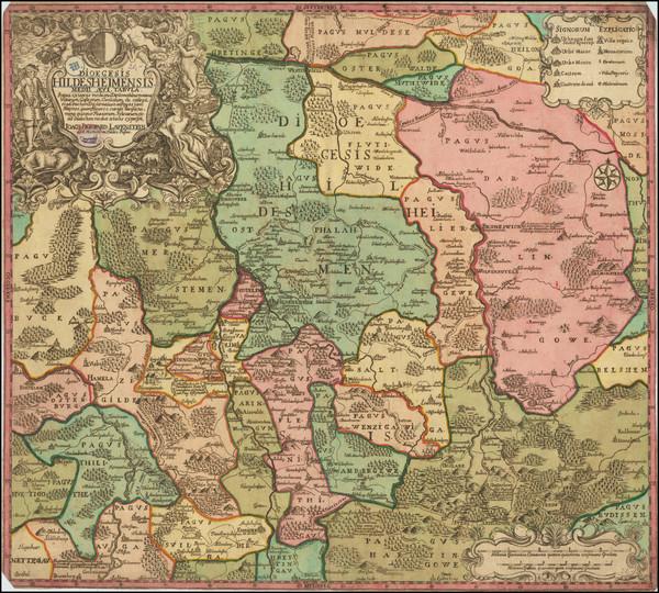 30-Norddeutschland Map By Ioachim Berward Lavenstein
