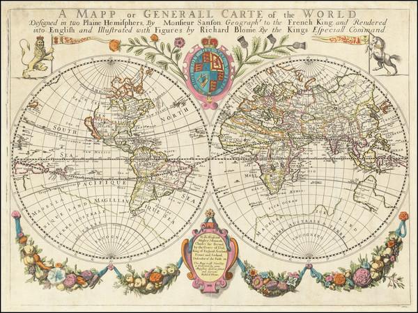 30-World Map By Richard Blome
