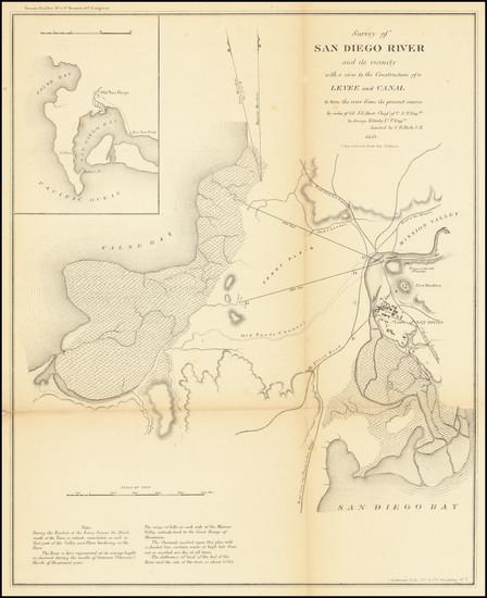 62-San Diego Map By George Derby