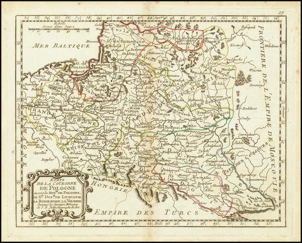 39-Poland Map By Jean-Baptiste Nolin