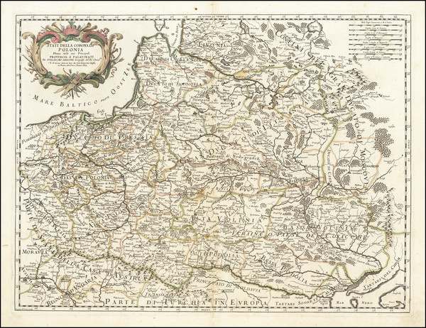 57-Poland Map By Giacomo Giovanni Rossi