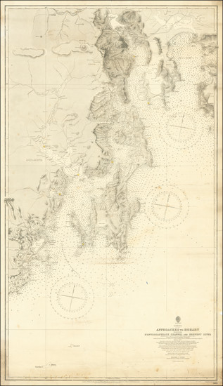 8-Australia Map By British Admiralty