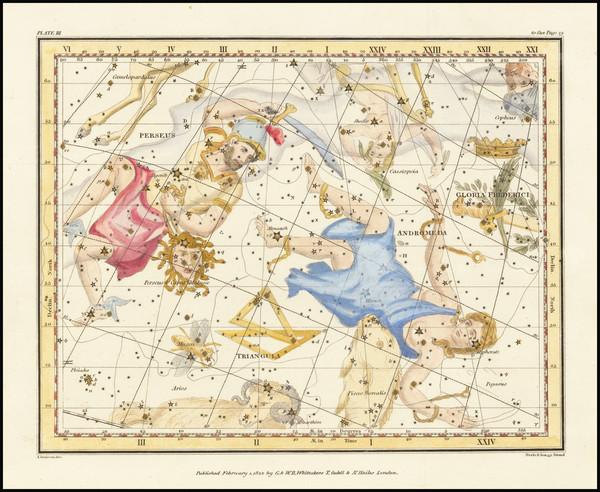 21-Celestial Maps Map By Alexander Jamieson