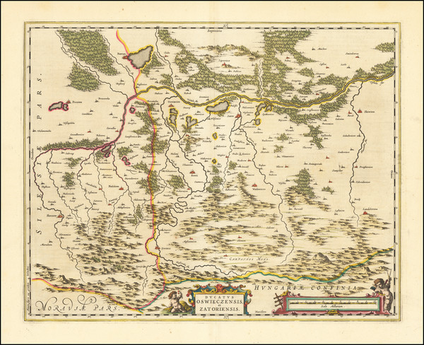 89-Poland Map By Johannes Blaeu