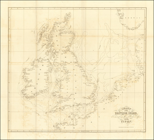 37-British Isles Map By John & Alexander Walker / John William Lubbock