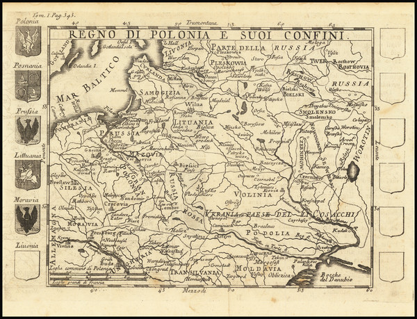 43-Poland Map By Benedicti Gessari