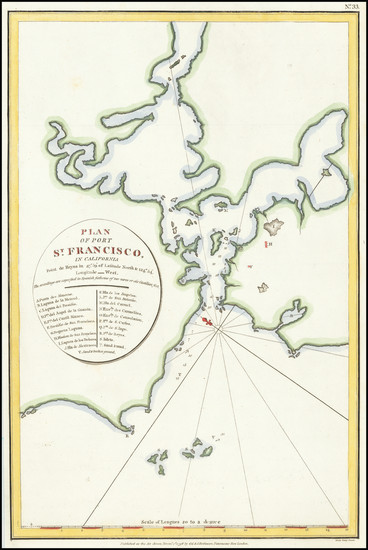 29-San Francisco & Bay Area Map By Jean Francois Galaup de La Perouse / G. Robinson