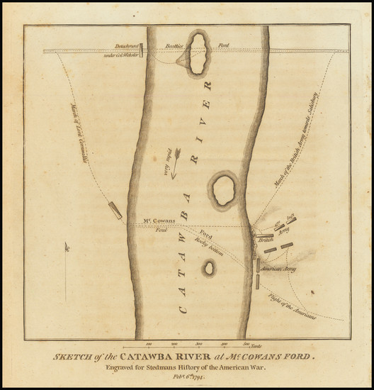38-Southeast and North Carolina Map By Charles Stedman