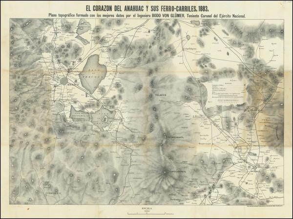 41-Mexico Map By Bodo Von Glumer