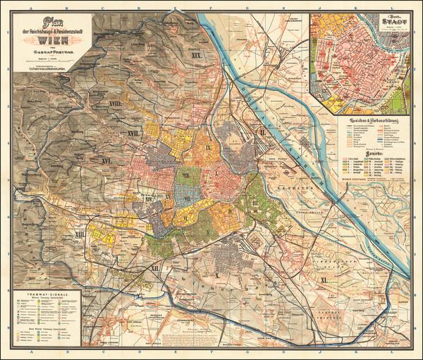 45-Austria Map By Freytag & Berndt